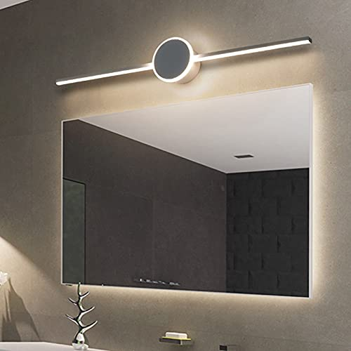 Lámpara LED de Pared, Lámpara LED de Espejo,Luz de Maquillaje, Apliques Espejo Baño LED, para Espejo Muebles de Maquillaje Aparato Montado en la Pared, para Baño, Armario, Pared