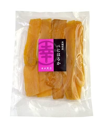 幸田商店 べにはるか 平切り 320g 干し芋 国産 無添加  ほしいも(干しいも、乾燥芋) 茨城県産