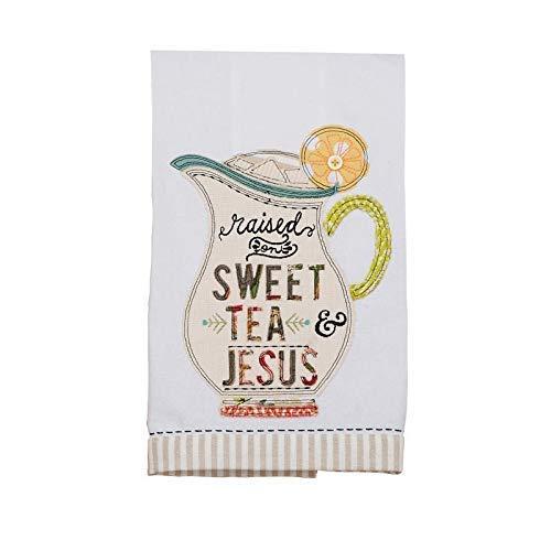 Glory Haus Raised On Sweet Tea & Jesus Tea Towel, Multicolor