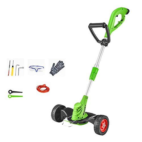 Great Features Of DENGS 680W Hedge Cutter, Adjustable Brush Cutter, Double Roller Design, Power Cord...