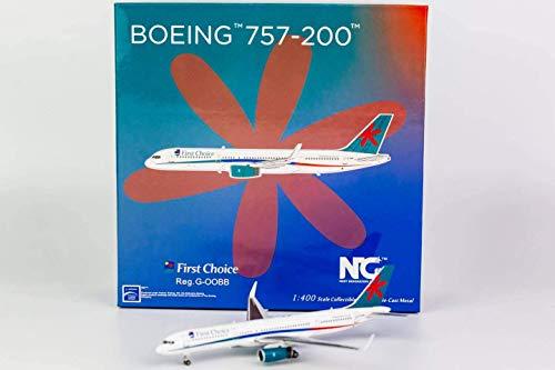 NG Model NGM53139 1:400 First Choice 757-200 Reg #G-OOBB (pre-Painted/pre-Built)