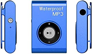 WZY IPX8 Waterproof Swimming Diving Sports MP3 Music Player with Clip & Earphone, Support FM, Memory:4GB(White) (Color : B...