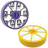 First4spares - Filtre Avant et Arrière Moteur Lavable HEPA Anti Allergie Kit pour Aspirateur Dyson DC05 DC08