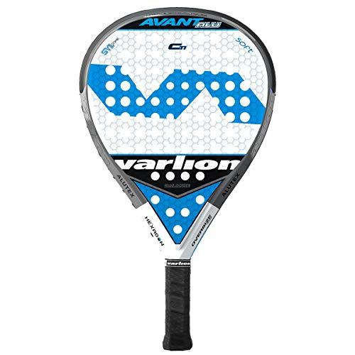 Varlion Avant ALU Carbon Ti Soft Palas, Adultos Unisex, Azul, 375-380 gr