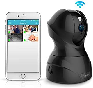 SereneLife - Indoor Wireless IP Camera - HD 1080p Network Security Surveillance Home Monitoring Featuring Motion Detection, Night Vision, PTZ, 2 Way Audio, iPhone Android Mobile App