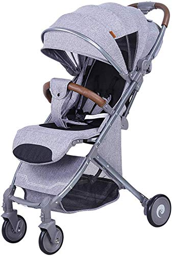 For Sale! Hot Mom Pushchair Baby Stroller, Reclining and Folding Compact 4-Wheel Stroller from Birth...