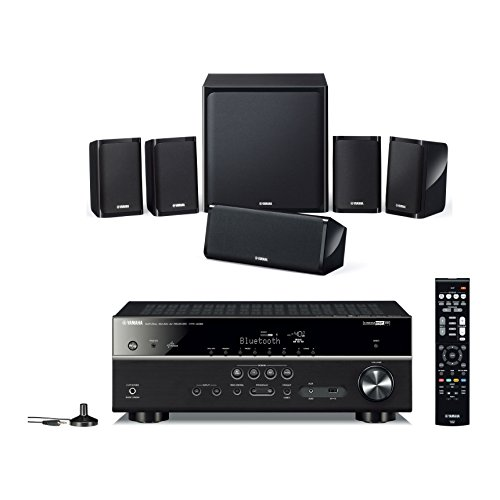 Yamaha APKYHT4940EUBL, Kit Home Cinema 5.1, Nero