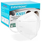 Eventronic- Mascarilla FFP2/KN95 5-Layer Protective Face Mask, CE Certified, Blanco (50pcs/Box, Each in Individual Pack)