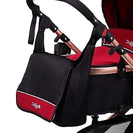 Daliya Wickeltasche Mamabag Babytasche Kliniktasche Tasche original f/ür Bambimo Kinderwagen Buggy oder Universal Grau