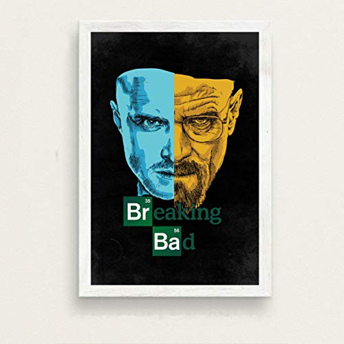 ruyanruomeng Canvas Painting Posters and Prints Breaking Bad Wall Pictures for Living Room Home Decor Tableau Unframed B1536(50X70Cm)