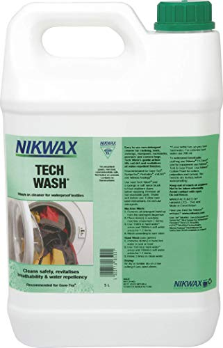 NIKWAX TECH WASH TEXTILE CLEANER (5LITRE)