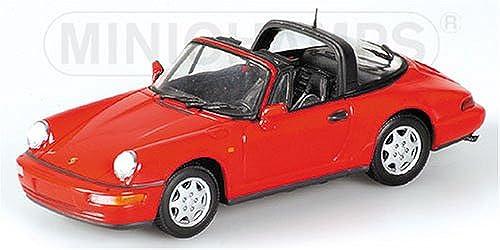 MINICHAMPS 1 43 (400061362) PORSCHE 911 TARGA 1991 (rot ROT rot) L.E._2400_PCS.