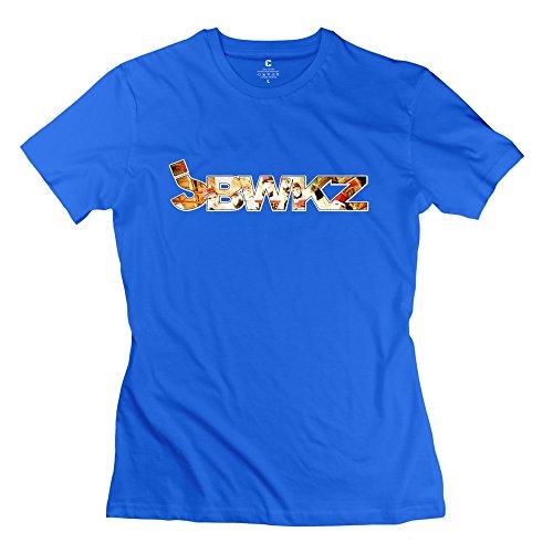 Fashion Jabbawockeez Best Dance Crew Art Men's Tshirt RoyalBlue Size XS