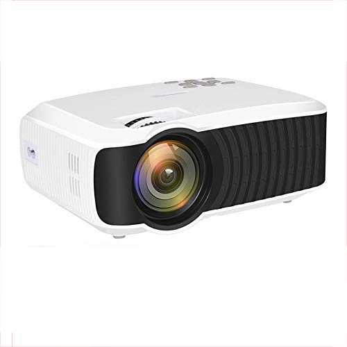 Projector, mini-projector T23k 2400 lumen 1280 * 720 draagbare video Hd Mini beamer Hdmi Vga thuisbioscoop Optionele projector