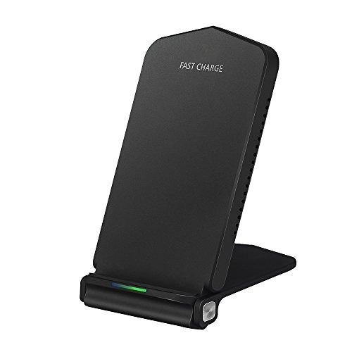 Foldable 10W Fast Wireless Charger, iBosi Cheng Qi Fast Wireless Charging Stand