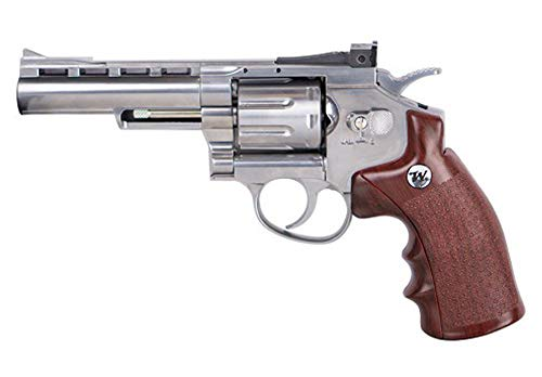 Tiendas LGP- Winchester, Revólver 4,5 Special, 6111400, de Aire Comprimido (CO2) Full Metal, Revolver co2, Potencia de 3,5 Julios, Calibre de 4,5 mm.
