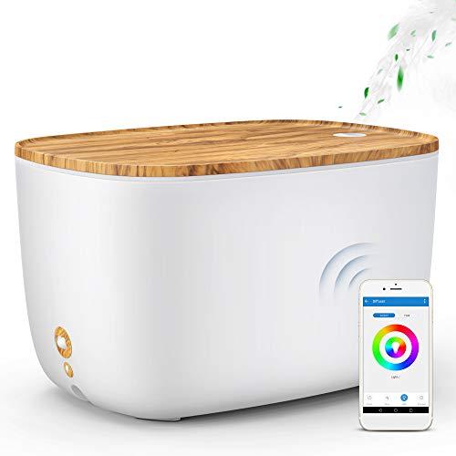GX·Diffuser Smart Essential Oil Diffuser, 2L WiFi Aroma Diffuser Alexa Humidifier Compatible...