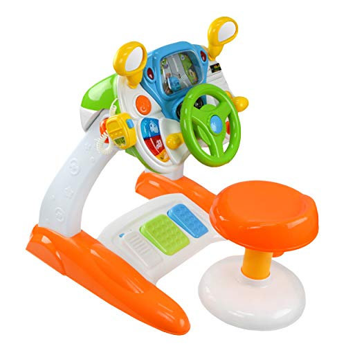 Baby Interactive Simulation Toys - Play Pretend Realistic Driving Play...