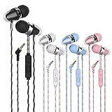 Earbuds Color Headphones Heavy bass Earphone in Ear Headphones Headphones with Microphone Mobile