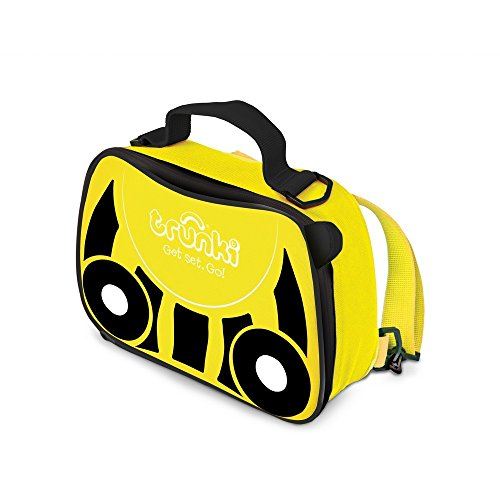 Trunki Kids Insulated Lunch Bag & Backpack With Shoulder Strap - Bernard Bee (Yellow)