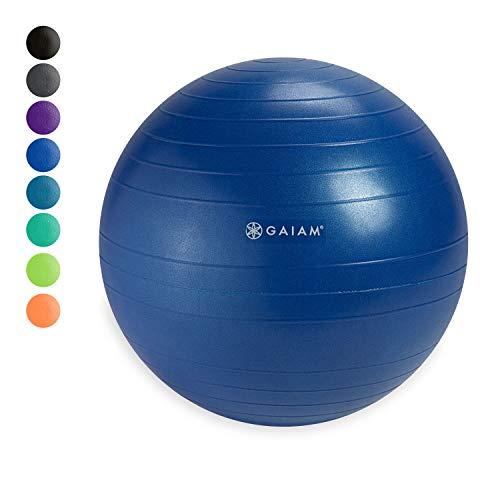 Gaiam Classic Balance Ball Chair Ball - Extra 52cm Balance Ball for Classic...