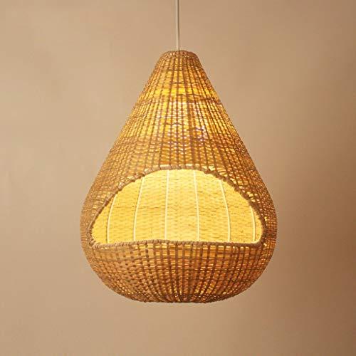 Mooie lampen/handgeweven bamboe vogels in de stijl van lampen restaurant thee restaurant bar pastoral van bamboe creatieve lamp rotan lampen groen lage carbon medium