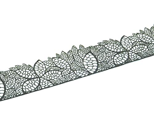Spitzendekor-Matte Leaves