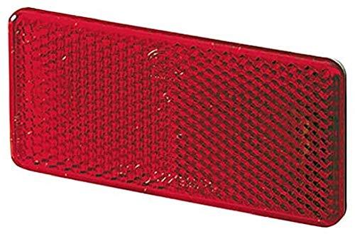 HELLA 8RA 003 326-931 Rückstrahler - Lichtscheibenfarbe: rot - geklebt - Set - Menge: 2