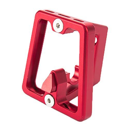 perfeclan Soporte Delantero de Bicicleta Plegable Bloque de Portabicicletas de Aleación Aluminio...