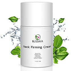Neck Firming Cream - Neck Tightening Cream - Turkey Neck Cream - Erase Crepe Skin Wrinkles Sagging Skin Fine Lines and Double Chin for Face Neck And Decollete for Men and Women