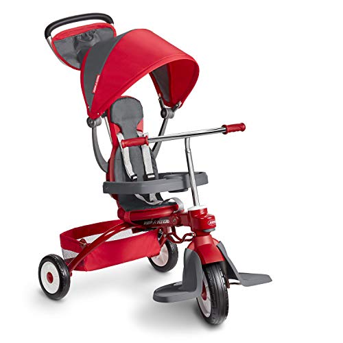 Radio Flyer Deluxe EZ Fold 4in1 Stroll #039N Trike Red