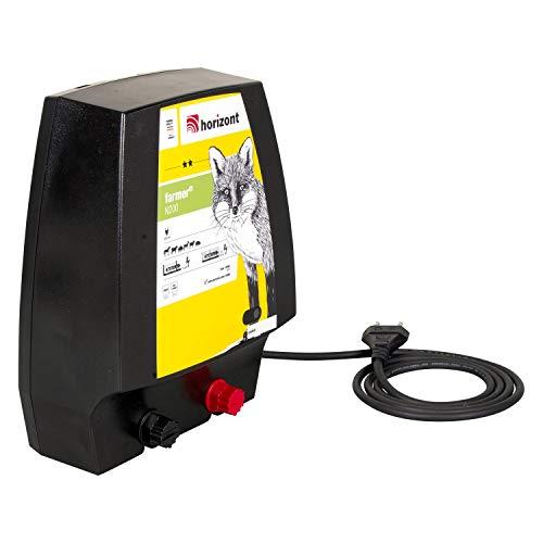 horizont Weidezaungerät 230V, 1,5 J - farmer N200 - mit Power Control, für Elektrozaun, Weidezaun, Elektrozaungerät, elektrischer Weidezaun, für mittlere Zaunanlagen