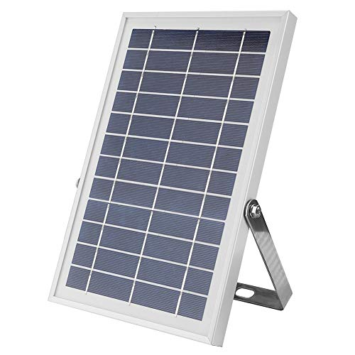 Cocosity Lámpara de Pared Solar LED, Reflector Solar Inteligente, Patio de 60 vatios al Aire Libre para estacionamiento de jardín(Black)