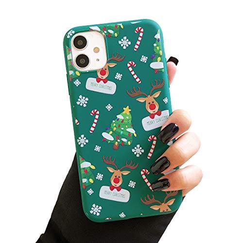 ZTOFERA TPU caso para iPhone 11 Pro 5.8 pulgadas, lindo diseño de Navidad Funda de silicona suave, delgado ligero...