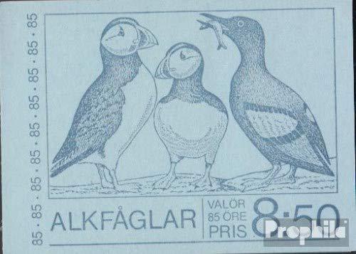 Zweden Mi.-Aantal.: 937D MH (compleet.Kwestie.) Brochures met 10x Aantal.937 1976 Alken (Postzegels voor verzamelaars) vogels