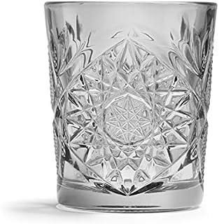 Libbey - Hobstar - Whiskyglas, Glas - Farbe: Grau - 355 ml - 1 Stück - Spülmaschinenfest - Streng Limitiert