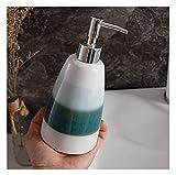 GANE Dispensador de jabón Accesorios de baño Decoración de Hotel, Botellas Botella de jabón de Manos de Estilo nórdico Botella de Gel de Ducha y champú para el hogar de Gran Capacidad