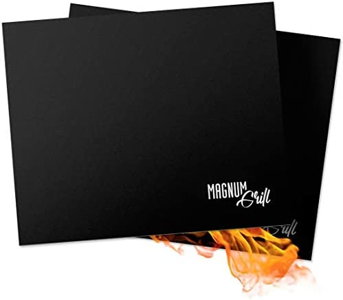 Magnum Grill Grilling Accessories Premium Grill Mats Non Stick Set of 2 Grilling Mats for Gas product image