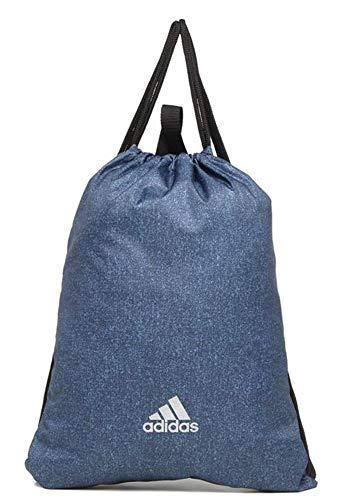 adidas Run Gym Bag - Bolsa de deporte, color negro, reflectante