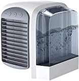 Breeze Maxx Air Cooler,Personal Space Mini Evaporative Air Cooler,Portable 3-in-1 Air Cooling Purification Humidifier-for Camping/Home/Office (Grey)
