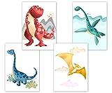 Dino Poster Kinderzimmer, Deko für Babyzimmer,