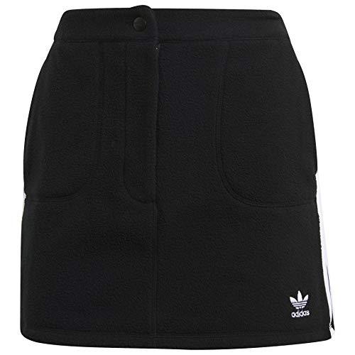 adidas Womens Originals Polar Fleece Skirt GN2800 Size XL Black