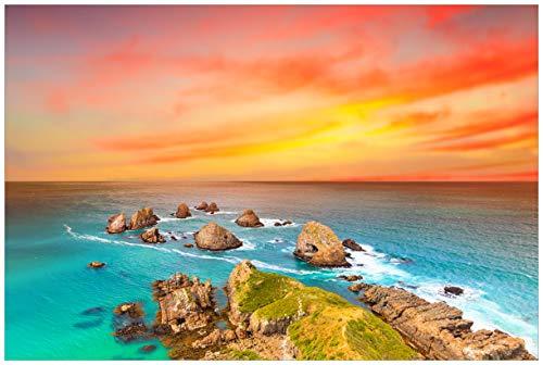 Wallario Premium XXL Vliestapete Himmel am Abend - Größe: 400 x 267 cm