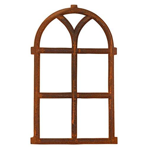 aubaho Nostalgie Stallfenster 68x40cm Eisenfenster Eisen Fenster Rahmen Rost Antik-Stil