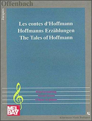 Hoffmanns Erzählungen, Klavierauszug (Chant et Piano)