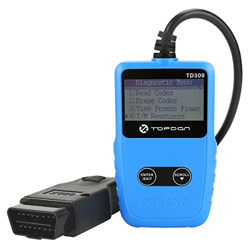 OBD2 Scanner TOPDON TD309 Auto Fault Code Reader Car OBDII Diagnostic Scan Tool with I/M Test...