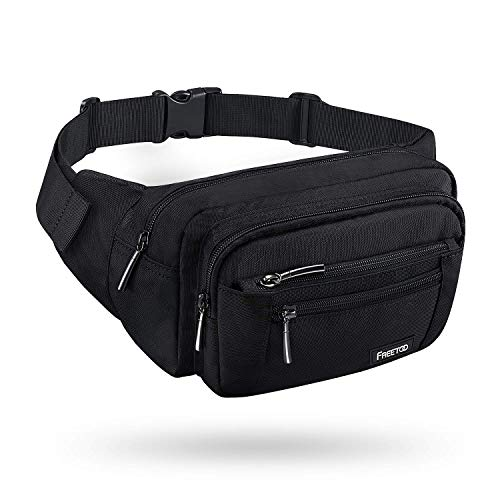 FREETOO Waist Pack Bag Fanny Pack for Men&Women Hip Bum Bag with Adjustable Strap for Outdoors Workout Traveling Casual Running...