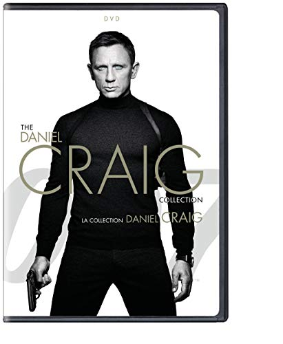 James Bond-Daniel Craig 4 Pack Collection
