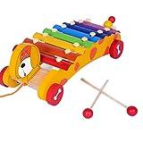 FISHSHOP Xylophon Kinder Holz Funktionelles Instrumentales Spielzeug Buntes Interessantes Klopfen auf Dem Klavier Baby Frühe Musik Sinneserziehung Achttöniges Klavier Oktav Schlaginstrument