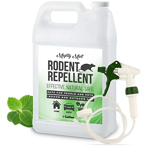Mighty Mint Gallon (128 oz) Rodent Natural Peppermint Oil Spray